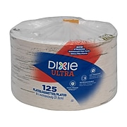 "Dixie Ultra Pathways Heavy-Weight Paper Plates, 8.5"", 125/Pack (SXP9PATH)"