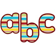 """Carson Dellosa Hipster Lowercase EZ Letters 4"""", Assorted Colors (CD-130077)"""