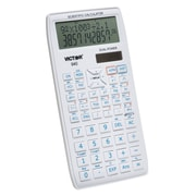 Victor Technology Scientific Calculator with 2 Line Display, VCT940, 10 digit