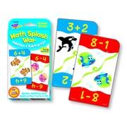 Trend Math Splash War Addition & SubtractionChallenge Cards, 56/pk (T-24022)