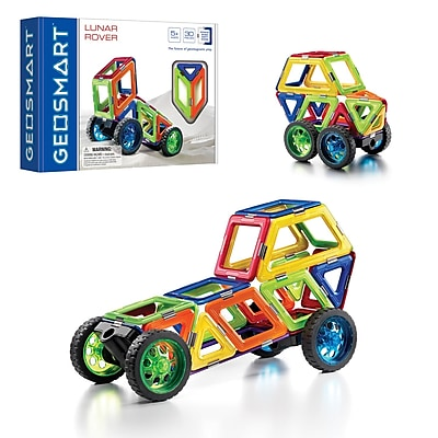 Smart Toys and Games, Lunar Rover 30PC Magnetic Construction, Assorted Colors (SG-GO0211US) 24063109