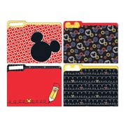 "Eureka, Mickey Color Pop File Folders, 9"" x 11.5"", Set of 6/pks total of 24 folders (EU-866404)"