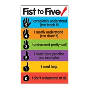 Dowling Magnets Fist to Five Check Magnets Chart, bundle of 3 (DO-735211)