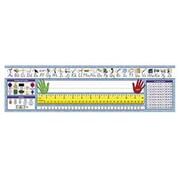 North Star Teacher Resource Modern Manuscript Desk Tape (EDRE25253)