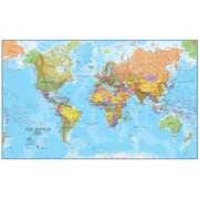 Maps International World 1 to 20 Laminated Wall Map (WPGR037)
