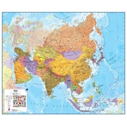Maps International Asia 1 to 11 Laminated Wall Map (WPGR045)