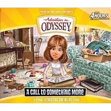 Focus On The Family Disc Adventures In Odyssey V57 Call To Something More 4 Cd (ANCRD18844)