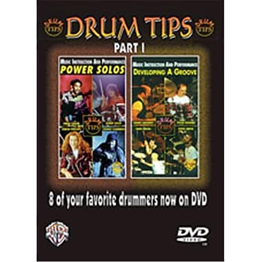 Alfred Drum Tips- Part I- Developing a Groove-Power Solos - Music Book (ALFRD39646)