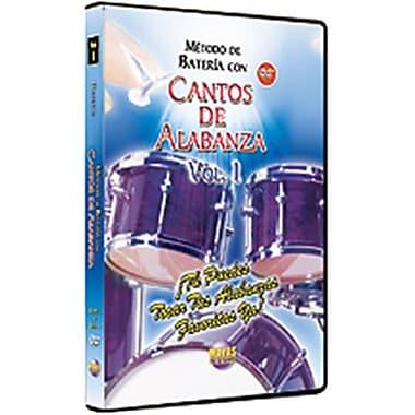 Alfred Mtodo con Cantos de Alabanza- Batera Vol. 1 - Music Book (ALFRD39682)