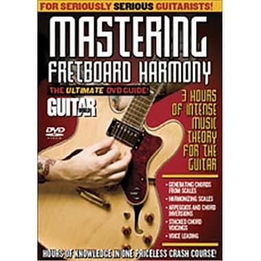 Alfred Guitar World- Mastering Fretboard Harmony - Music Book (ALFRD35733)