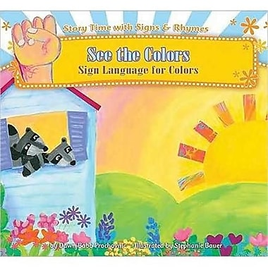 Cicso Independent See the Colors - Sign Language - Colors (HRSC872)