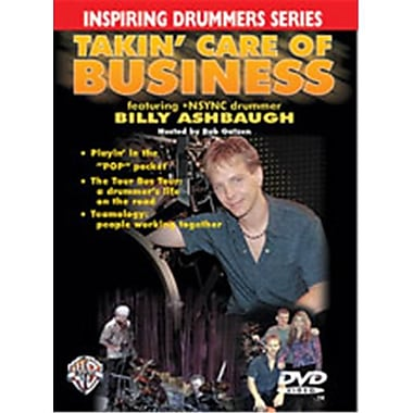 Alfred Inspiring Drummers Series- Takin Care of Business - Music Book (ALFRD39634)