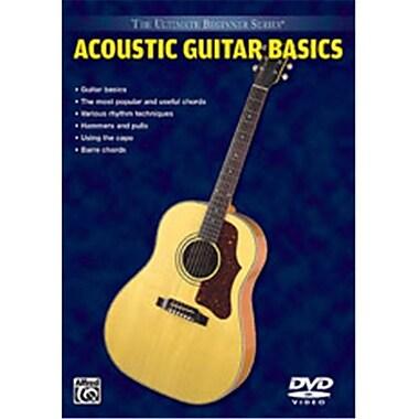 Alfred Ultimate Beginner Series- Acoustic Guitar Basics - Music Book (ALFRD35630)