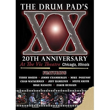 Alfred The Drum Pad's 20th Anniversary - Music Book (ALFRD21899)