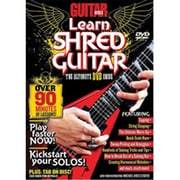 Alfred Guitar World- Learn Shred Guitar - Music Book (ALFRD35730)