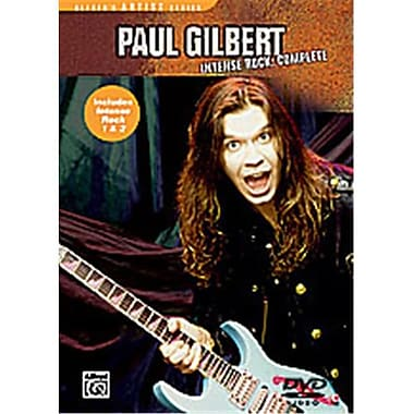 Alfred Paul Gilbert- Intense Rock Complete - Music Book (ALFRD35576)