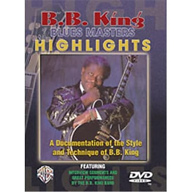 Alfred Blues Master Highlights - Music Book (ALFRD35645)
