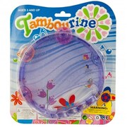 Kole Imports Glitter Toy Tambourine, 48 Piece (KOLIM84987)