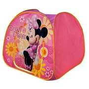 Playhut Minnie Mouse Dazzling Cottage Playhouse, Pink - 38 x 34 x 38 in. (PLYHT083)
