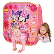 Playhut Minnie Mouse Hide N Play Playhouse, Pink - 34 x 34 x 34 in. (PLYHT065)