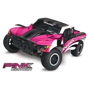 Traxxas Oba Slash 2WD Edition Ready to Run Monster Truck with On Board Audio, Radio - Pink (HPDS11100)