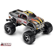 Traxxas Stampede VXL 1-10 Scale Monster Truck Ready to Run - Silver (HPDS10891)