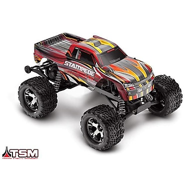 Traxxas Stampede VXL 1-10 Scale Monster Truck Ready to Run with TSM - Red (HPDS10890)