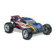 Traxxas Rustler 1-10 4 amp Ready to Run Stadium Truck with ID Battery - Blue (HPDS10901)