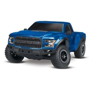 Traxxas 2017 Ford Raptor 1-10 Scale 2WD Ready to Run Truck with 3000 mAh - Blue (HPDS11106)