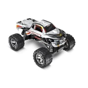 Traxxas Stampede 1-10 4 amp Ready to Run Monster Truck with ID Battery - Silver (HPDS10886)