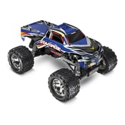 Traxxas Stampede 1-10 4 amp Ready to Run Monster Truck with ID Battery - Blue (HPDS10885)