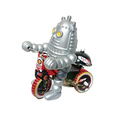 SHAN Collectible Tin Toy - Robot on Bike (AXNRT1774)
