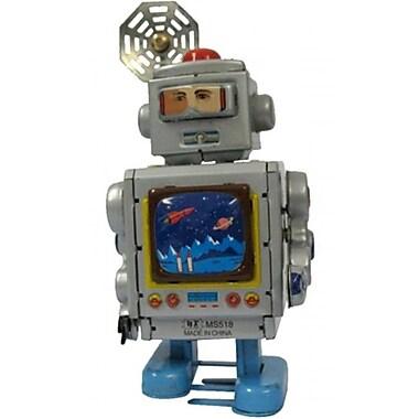 SHAN Collectible Tin Toy - Robot Silver (AXNRT1826)