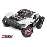 Traxxas Oba Slash 2WD Ready to Run Monster Truck with On Board Audio, Radio & ID Battery - White (HPDS11101)