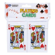 Diamond Visions 11-1535 Playing Cards, Pack of 2 - Pack of 24 (ACHR14143)