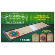 Bulk Buys 3 in. 1 Shuffleboard Tabletop Game - 2 Piece (KOLIM78323)