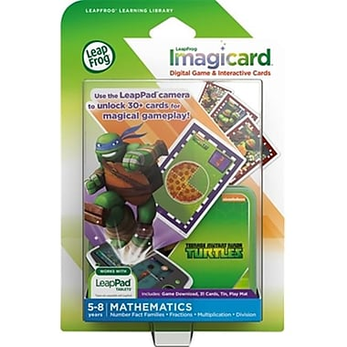 Leapfrog Enterprises, Inc Imagicard Teenage Mutant Ninja Turtles (DGC105582)