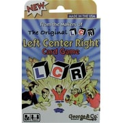 George and Company LLC LCR Left Center Right Card Game (GRGE006)