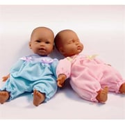 Dolls By Berenguer La Baby Open Eyes Doll - African American - 11 Inches (DDB60)
