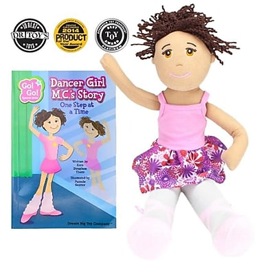 BrybellyHoldings Dancer Girl M.C. Read & Play Doll And Book Set (BRYBL3709)