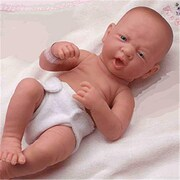 Dolls By Berenguer La Newborn First Day Real Girl Doll - 14 Inches (DDB141)