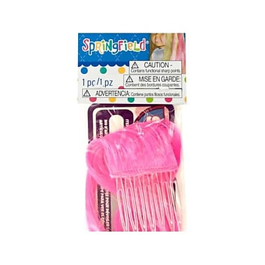 Bulk Buys Springfield Hot Pink Doll Hair Extension - 24 Piece (KOLIM78917)
