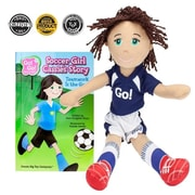 BrybellyHoldings Soccer Girl Cassie Read & Play Doll And Book Set (BRYBL3707)