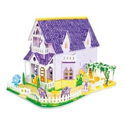 Melissa And Doug Pretty Purple Doll house 3D Puzzle (MLSSAND1674)