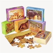 US Toy Wild Animal Jigsaw Puzzles - 12 Per Pack - Pack of 7 (USTCYC173008)