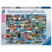 Ravensburger 99 Beautiful Places on Earth Puzzle, 1000 Piece (JNSN79033)