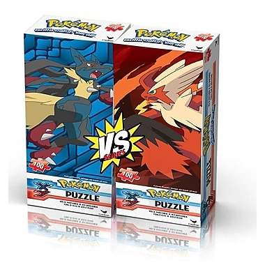 Pokemon Pokemon Tower Puzzles, Pack of 2 - 100 Pieces per pack (KMSH6034)