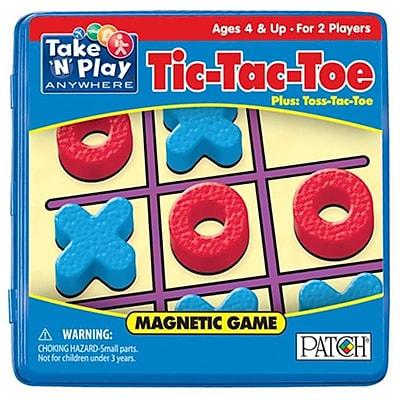 Playmonster 6.75 in. Take N Play Anywhere Games Tic Tac Toe (ESSEN16693) 24058049