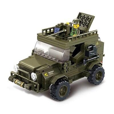 Sluban Army Jeep Building Block Set -