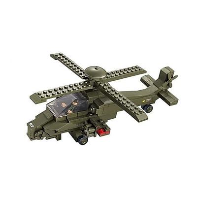 Sluban Hind Helicopter Building Block Set -